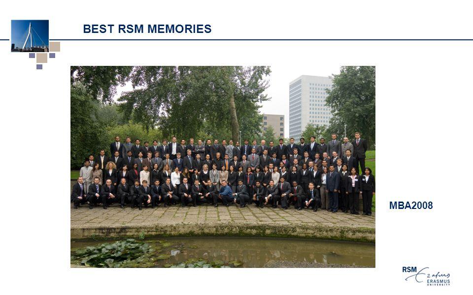 BEST RSM MEMORIES MBA2008