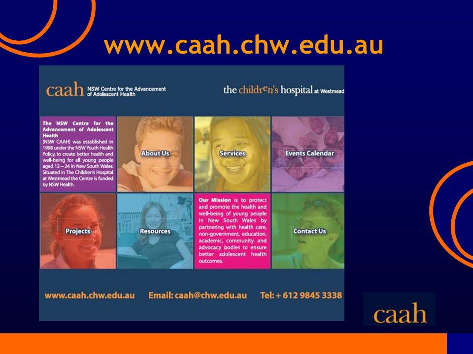 www.caah.chw.edu.au