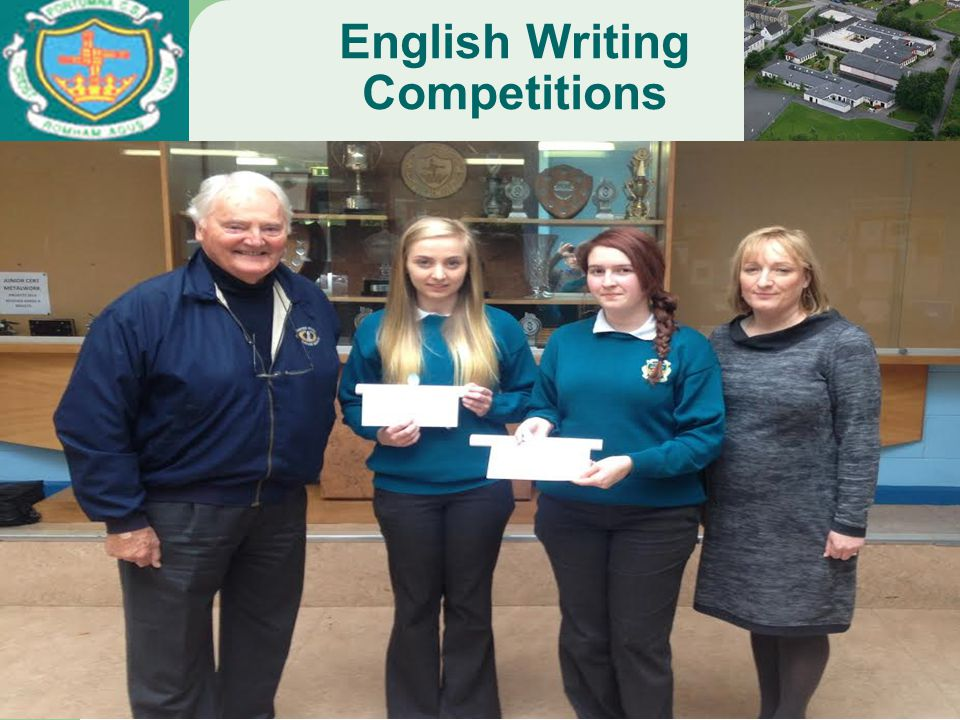English Writing Competitions