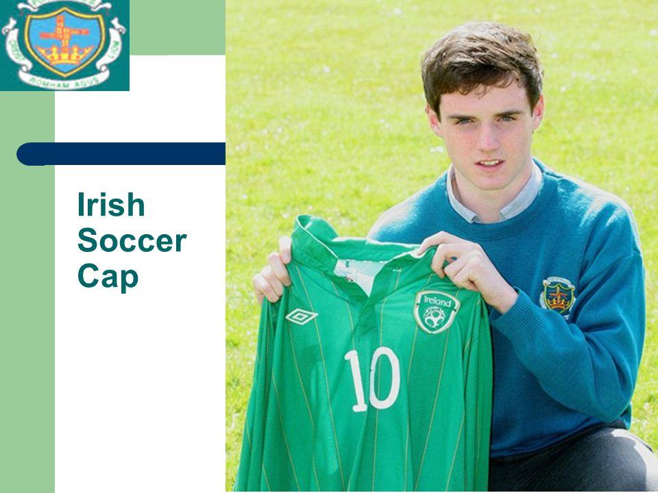 Irish Soccer Cap
