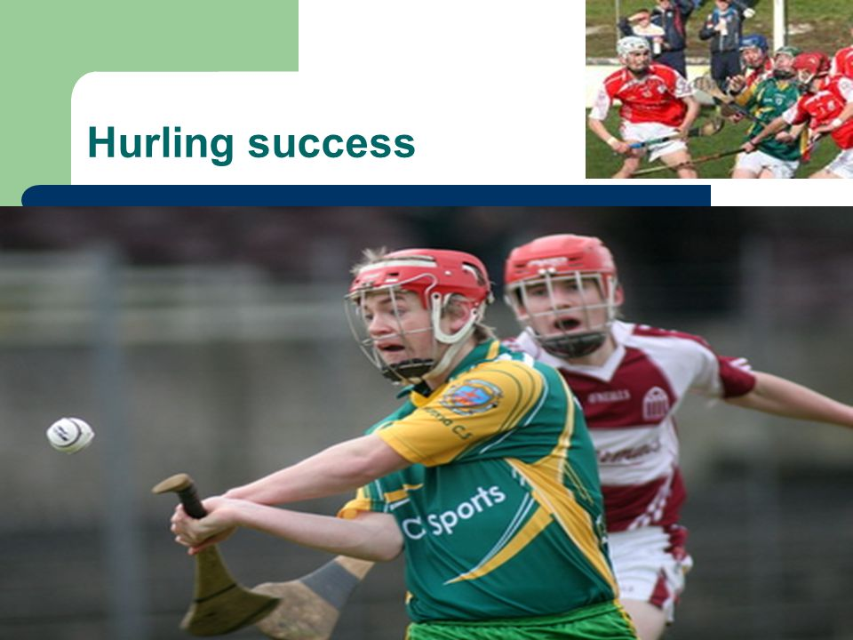 Hurling success
