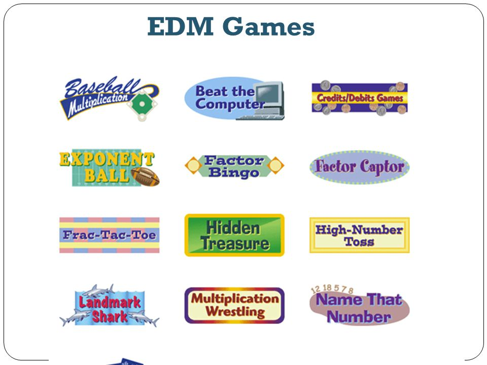 EDM Games