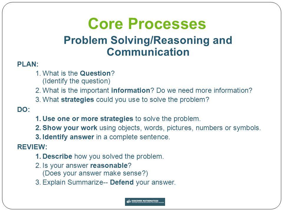 A Balanced Math Program A well-balanced mathematics program includes: Conceptual understanding Procedural proficiency Mathematical processes