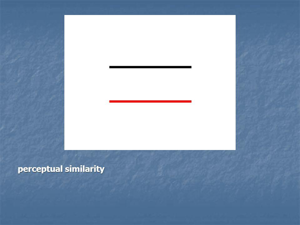 perceptual similarity