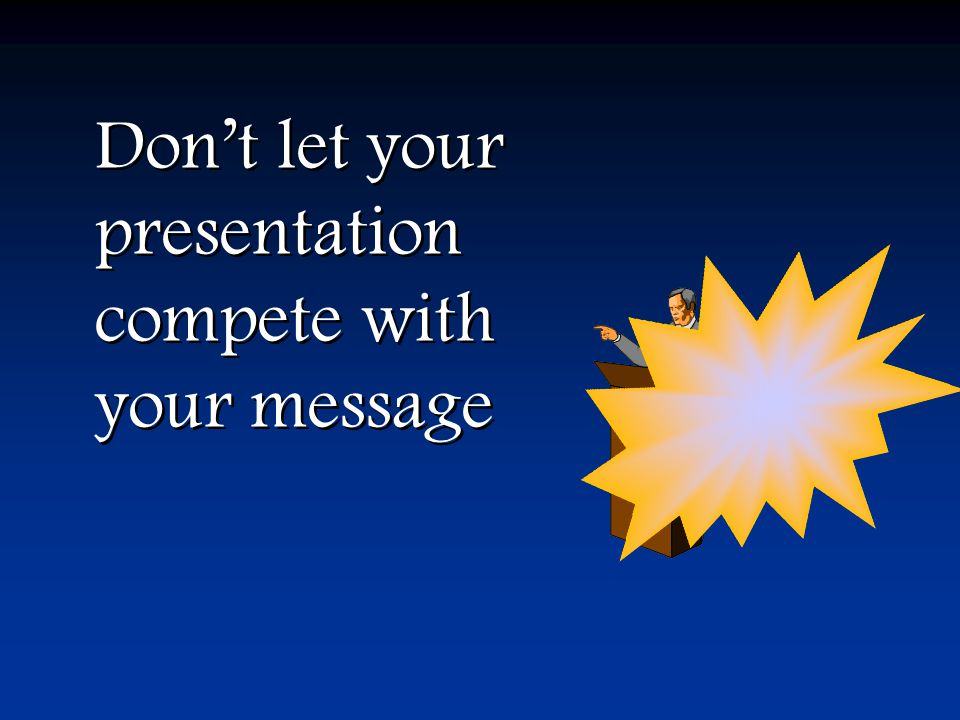 What's wrong with PowerPoint and what you can do about it What's wrong with PowerPoint and what you can do about it The idea is sequencing … not animation