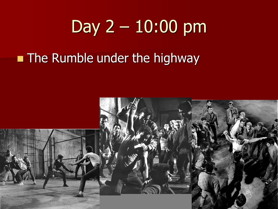 Day 2 – 10:00 pm The Rumble under the highway The Rumble under the highway