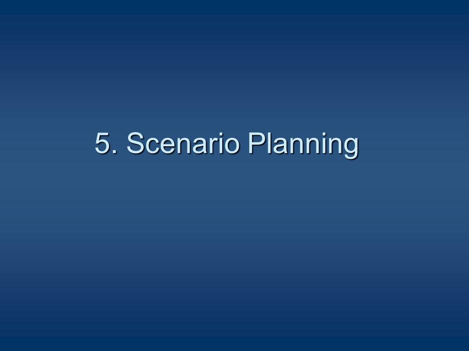 5. Scenario Planning