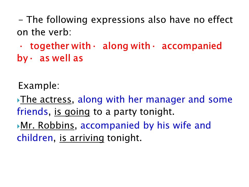 15 Exercise: Choose the correct form of the verb in the following sentences.