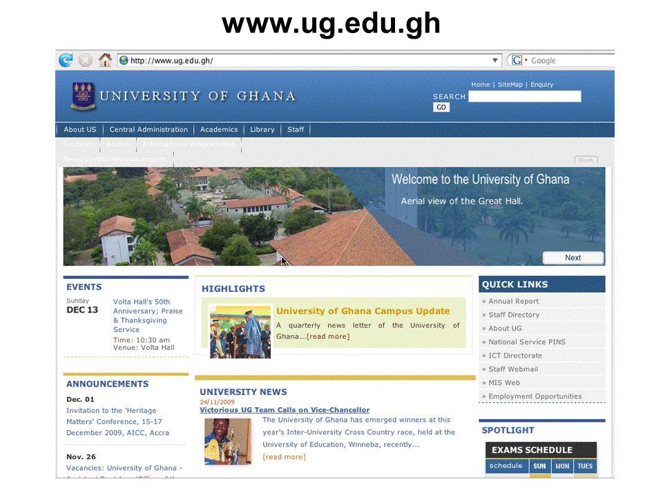 19 www.ug.edu.gh