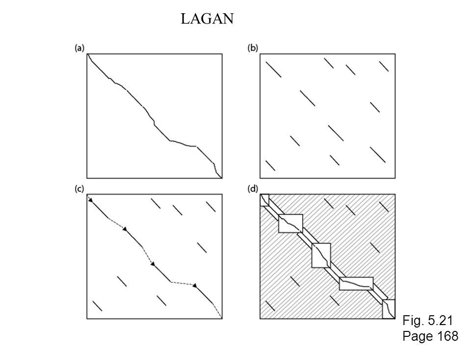 LAGAN Fig. 5.21 Page 168