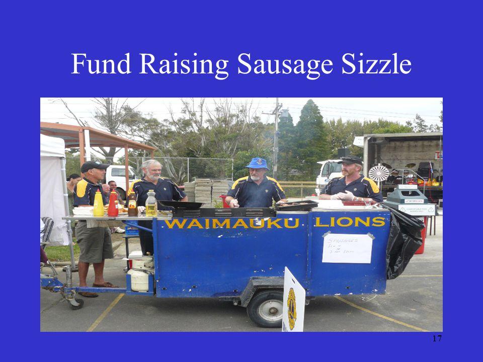 17 Fund Raising Sausage Sizzle