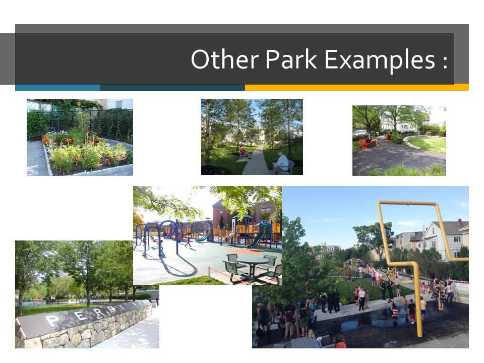 Other Park Examples :
