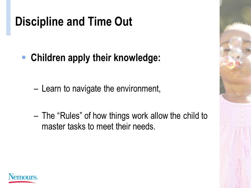 Discipline and Time Out Perspective: Behavior Problem Parent