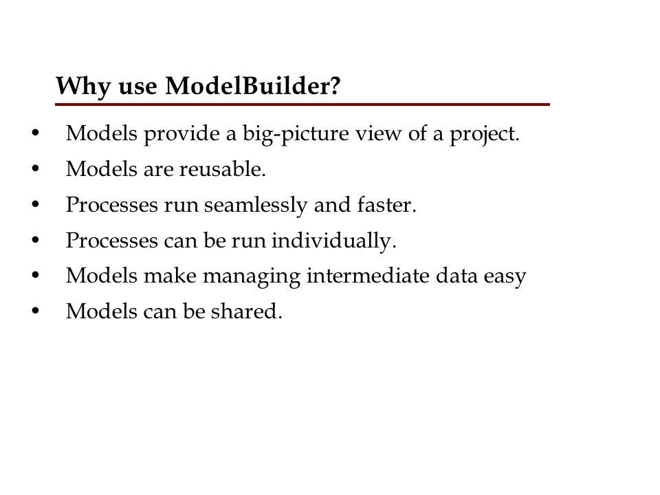 Using ModelBuilder Open ArcToolbox.