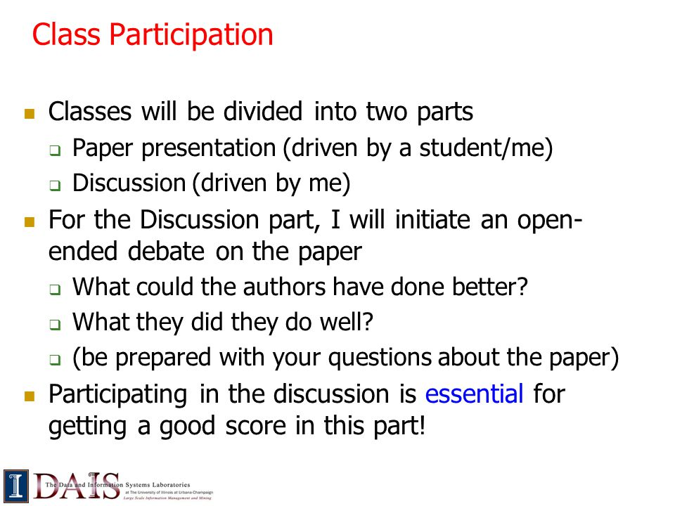 Paper Presentation Decide by next Wed afternoon on which papers you'd be interested in presenting  Any paper from the reading list or others in space  Final reading list with links will be up tonight, as well as instructions on how to send your preferences to me  Also send me any constraints as to days you cannot present (be reasonable!)