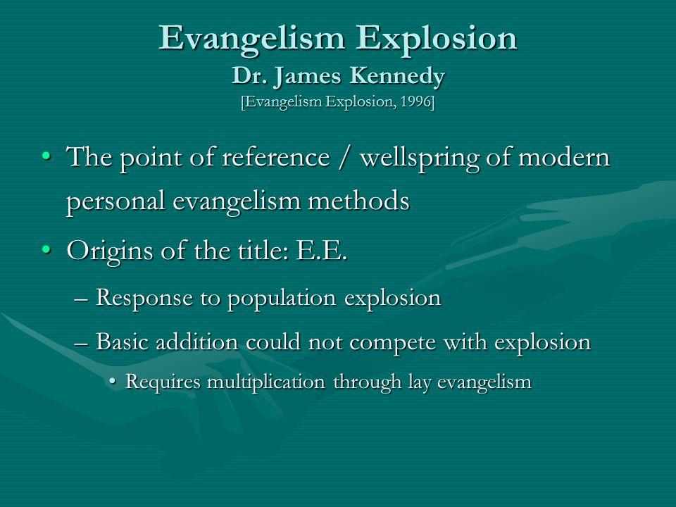Evangelism Explosion Dr.