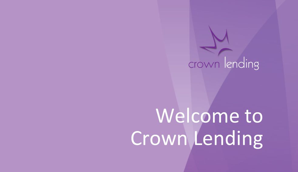 Welcome to Crown Lending