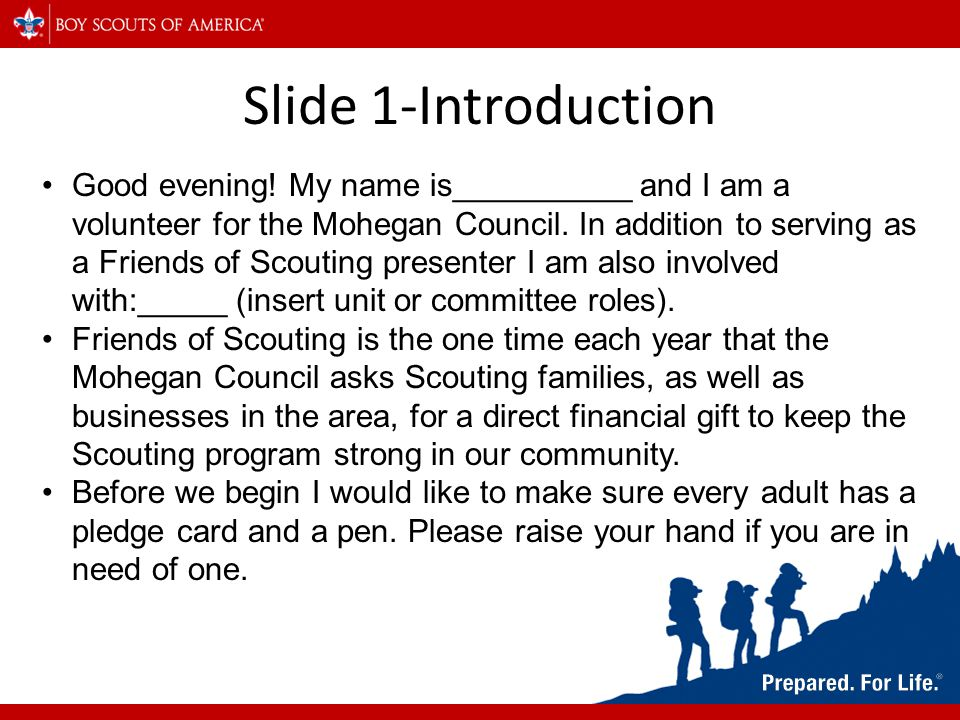 Slide 1-Introduction Good evening.