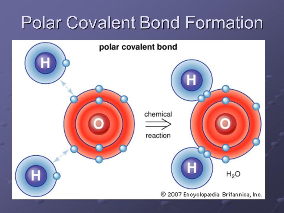 Polar Covalent Bond Formation