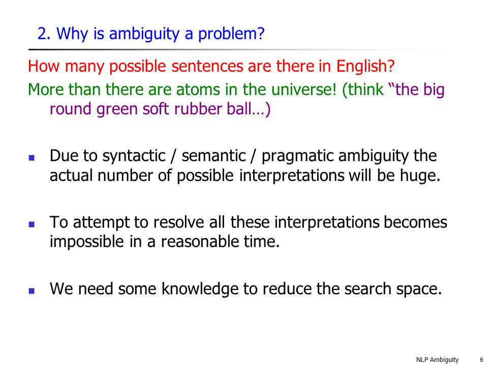 NLP Ambiguity7 3.Local vs.