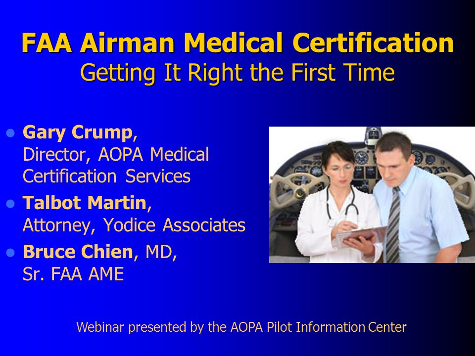 AOPA's Database of Medications