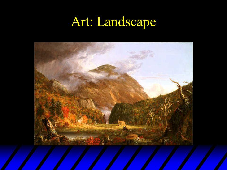 Art: Landscape Thomas Cole