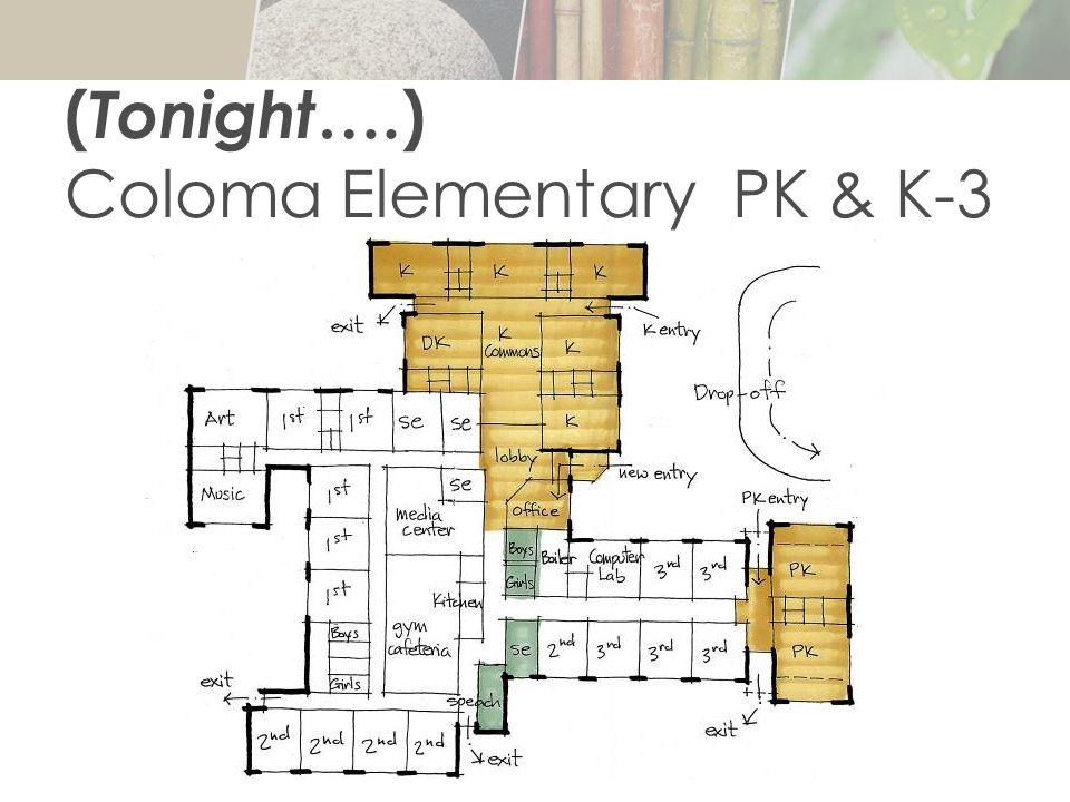 ( Tonight ….) Coloma Elementary PK & K-3