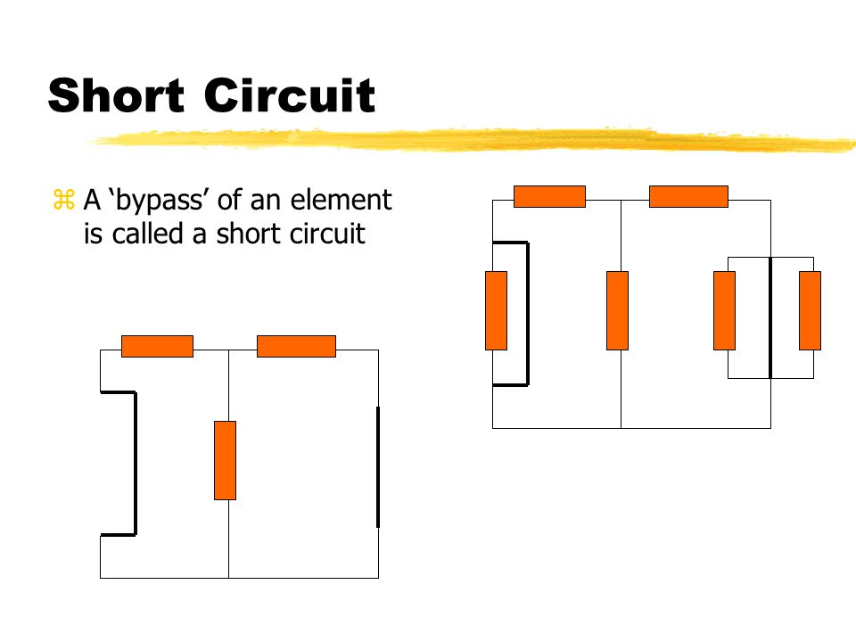 Open Circuit zA 'Break' in a circuit is called an open circuit