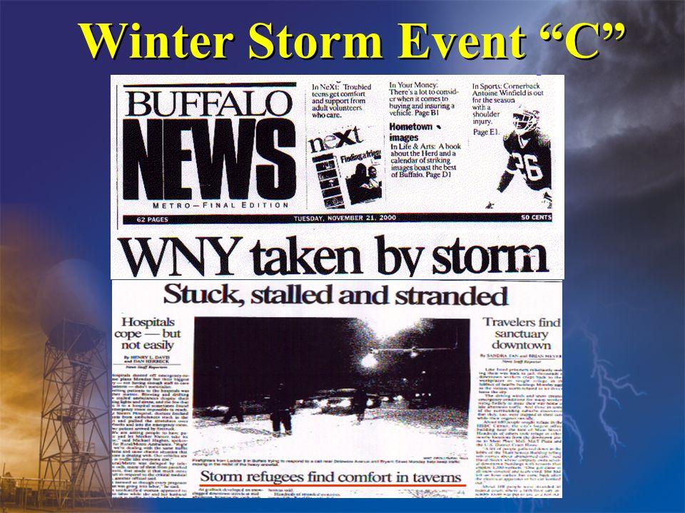 Winter Storm Event C