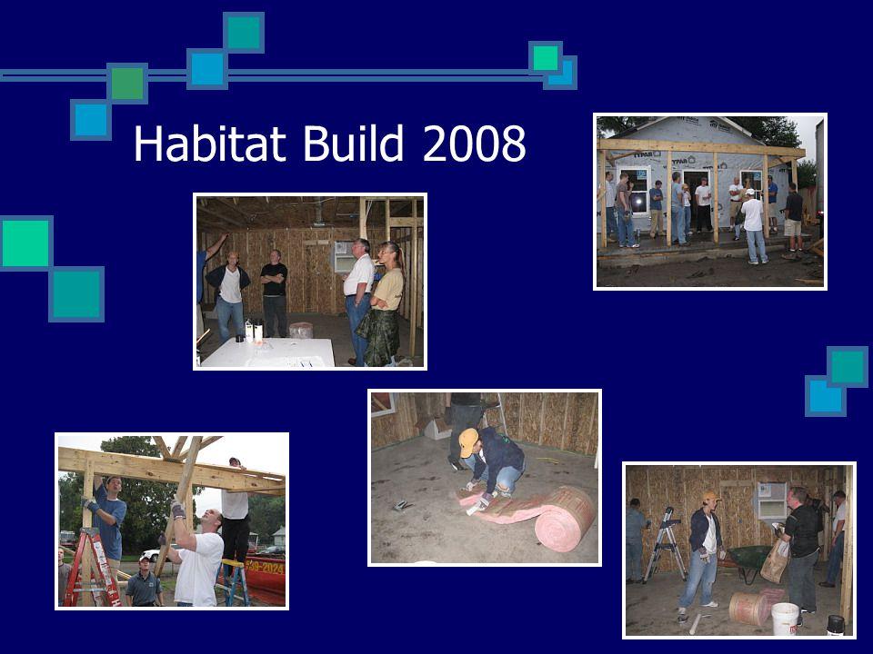 Habitat Build 2008