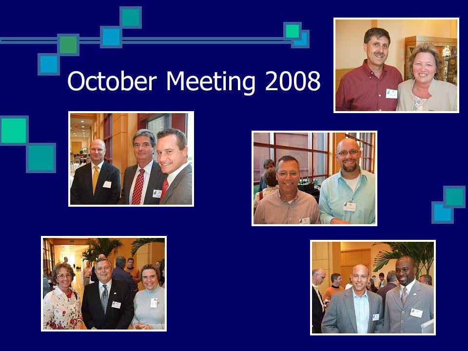 October Meeting 2008