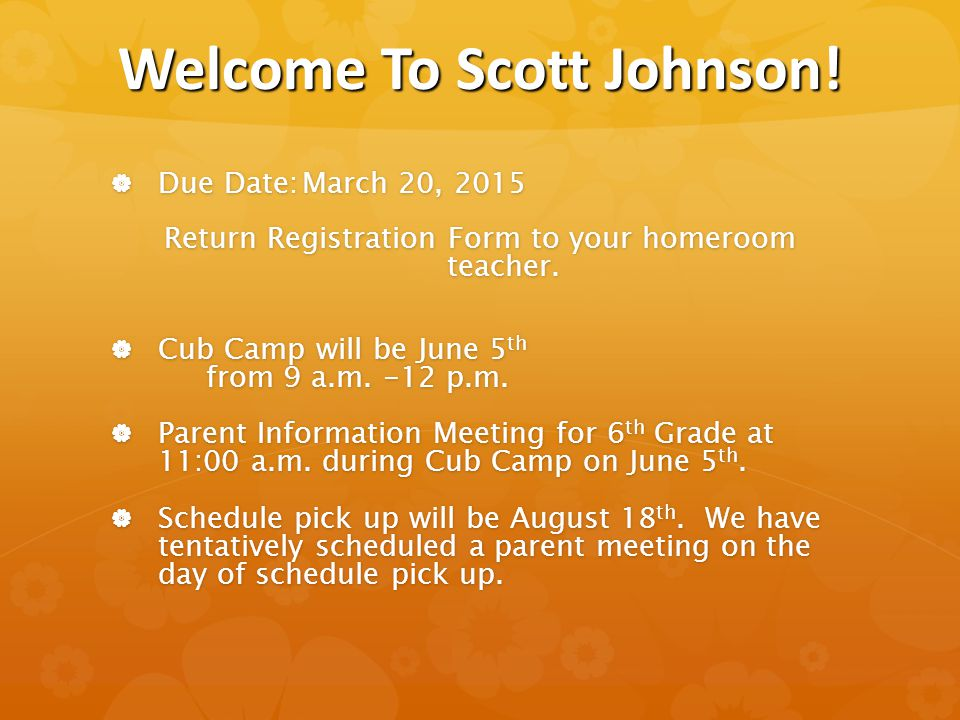 Welcome To Scott Johnson.