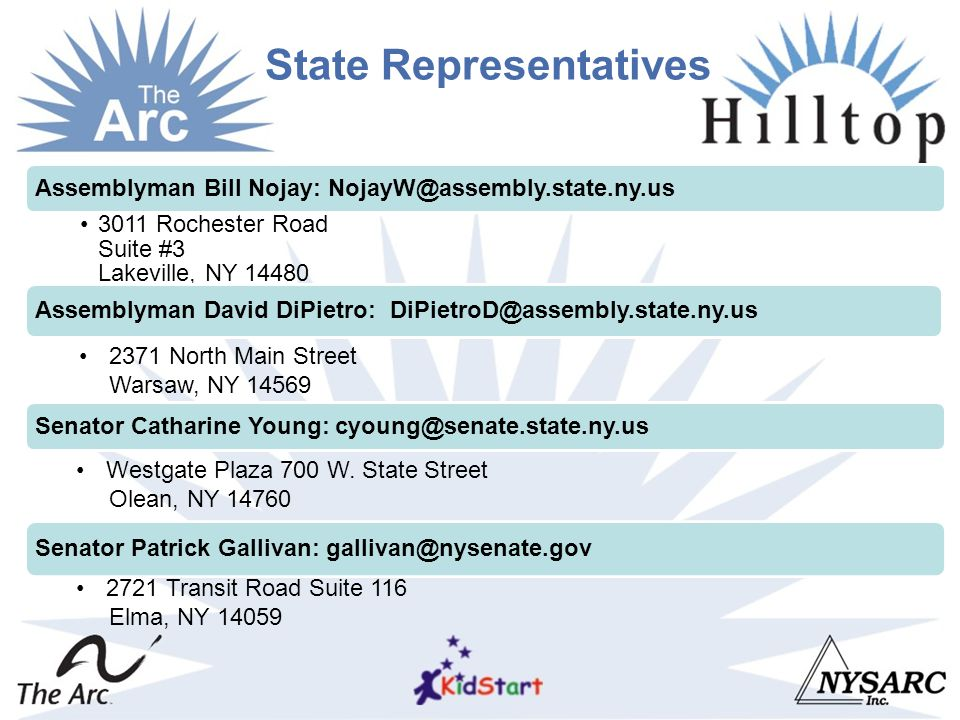 State Representatives.