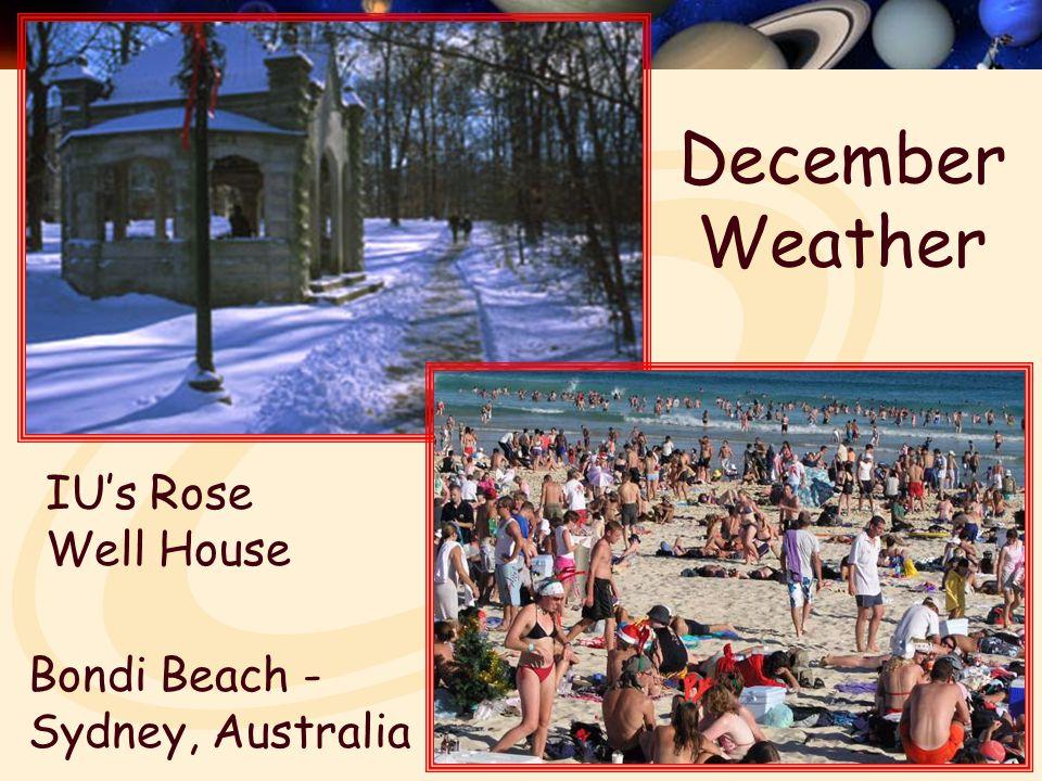 December Weather Bondi Beach - Sydney, Australia IU's Rose Well House