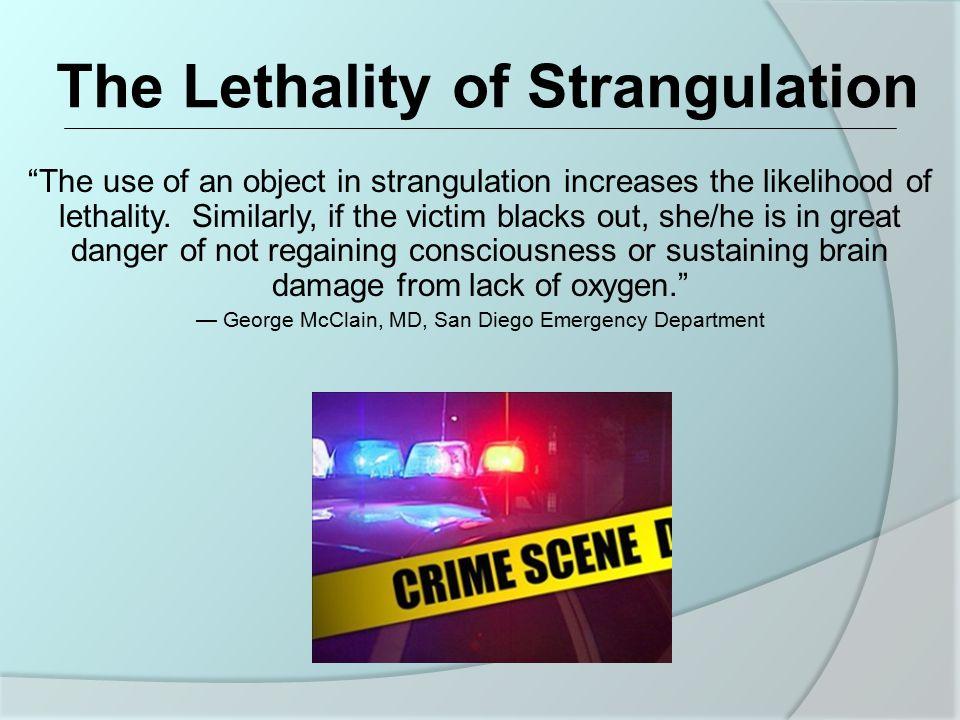 Intent of Strangulation
