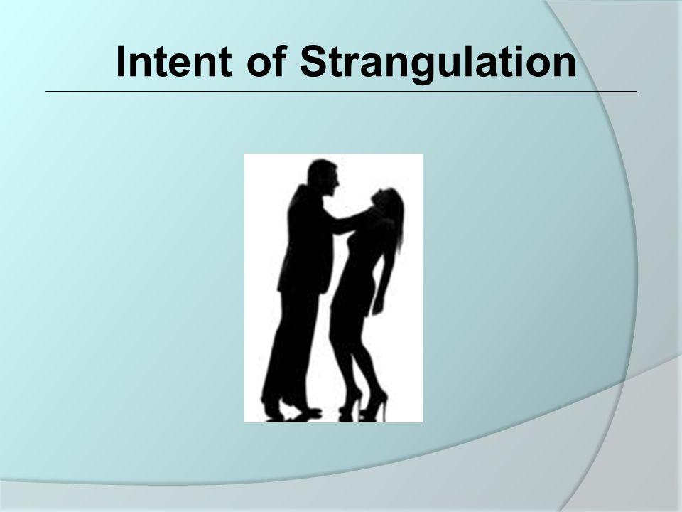 Obstruction of the Jugular Vein Secondary Cause of Strangulation