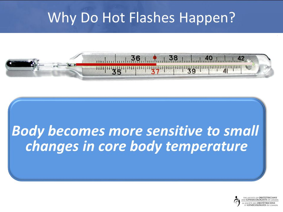 Why Do Hot Flashes Happen.