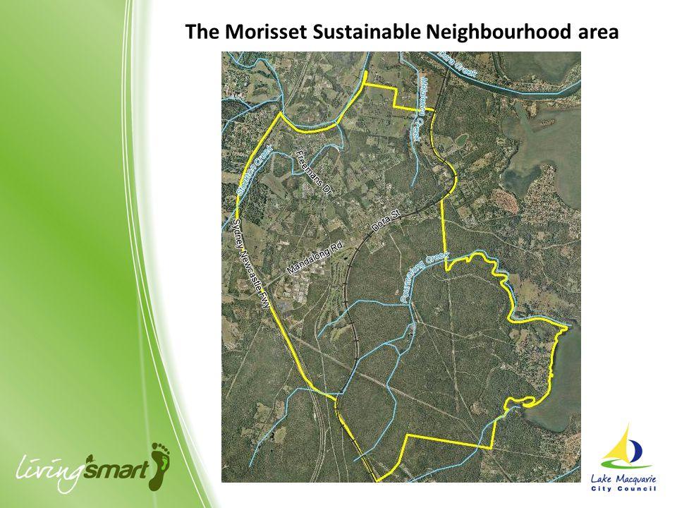 The Morisset Sustainable Neighbourhood area