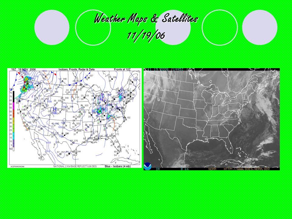 Weather Maps & Satellites 11/19/06
