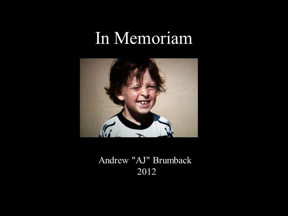 Andrew AJ Brumback 2012