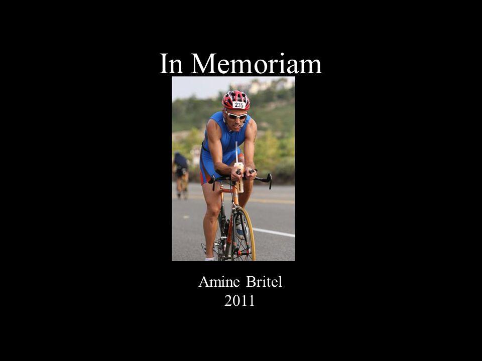In Memoriam Amine Britel 2011