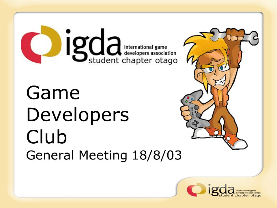 Whats happening.IGDA Membership forms here to fill in for all TieR 2 members.
