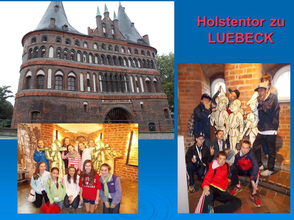 1919 Holstentor zu LUEBECK