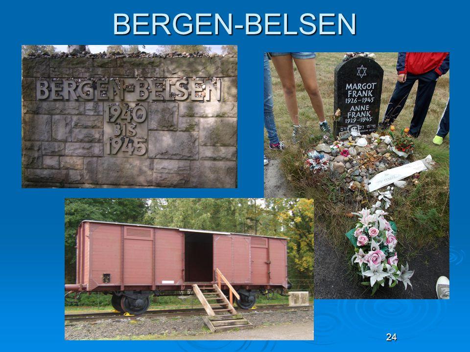 24 BERGEN-BELSEN