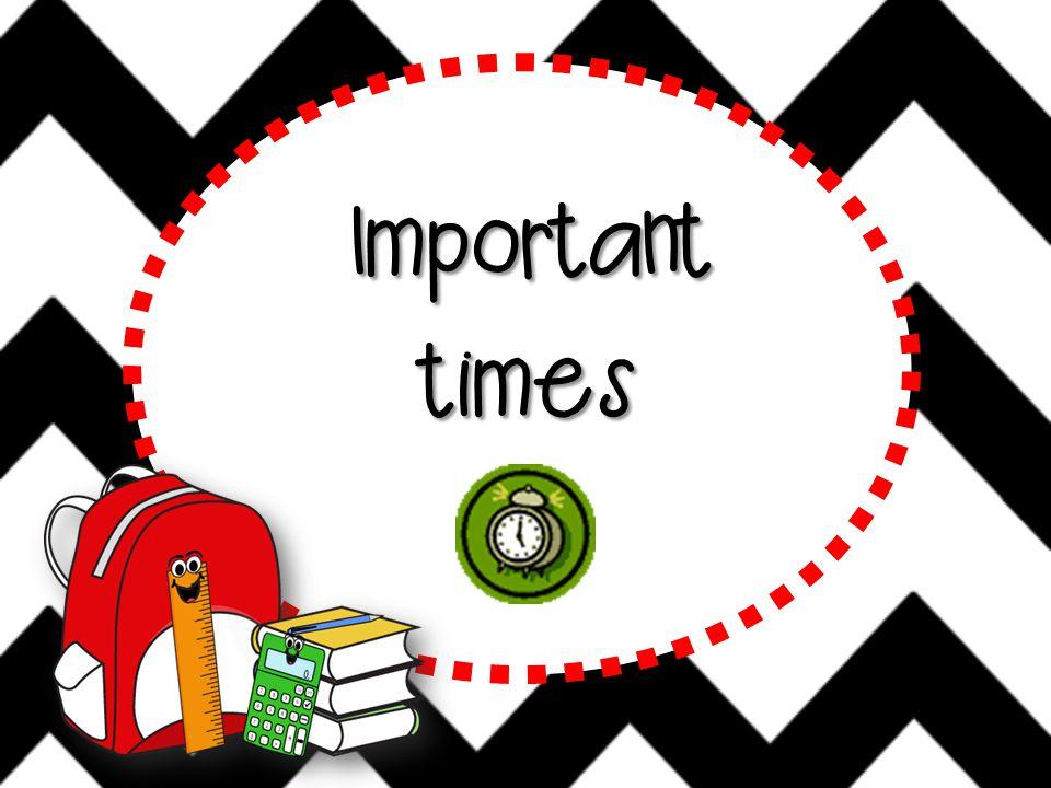 Importanttimes