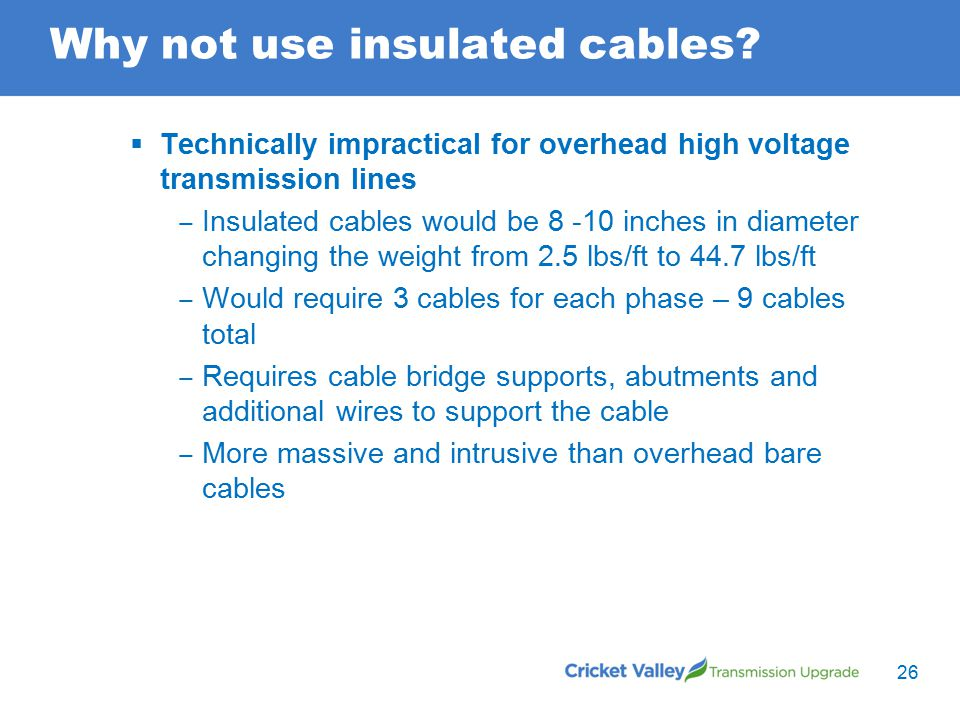 Why not use insulated cables.