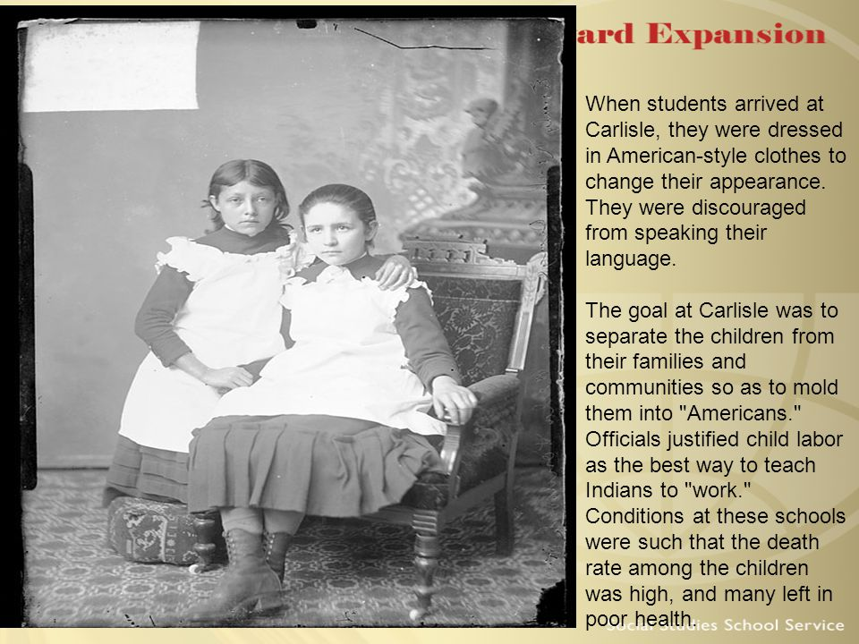 Back to Carlisle… Boarding school that was created to Americanize all Native American children In the White Man's Image Kill the Indian, Save the Man!