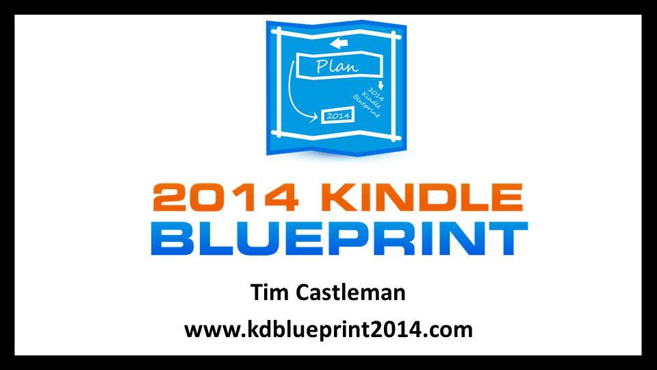 Tim Castleman www.kdblueprint2014.com