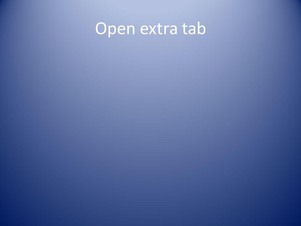 Open extra tab