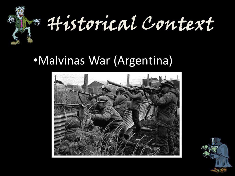 Historical Context Malvinas War (Argentina)